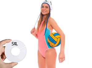 Waterpolobadpak maat 5XL (D48=FR50)