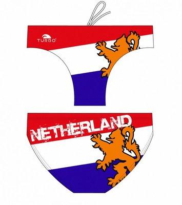 *Special Made* Turbo Waterpolo broek Netherland Flag (levertijd 6 tot 8 weken)