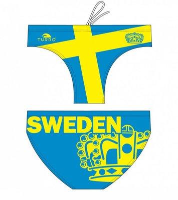 *Special Made* Turbo Waterpolo broek Sweeden (levertijd 6 tot 8 weken)