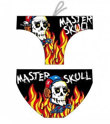 *Special Made* Turbo Waterpolo broek Halloween Master Skull (levertijd 6 tot 8 weken)