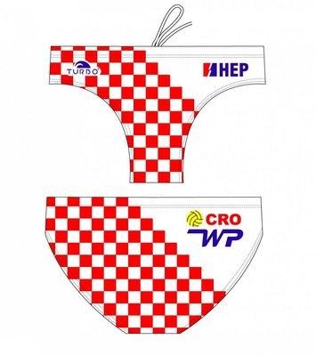 *Special Made* Turbo Waterpolo broek Croatia 2012 (levertijd 6 tot 8 weken)