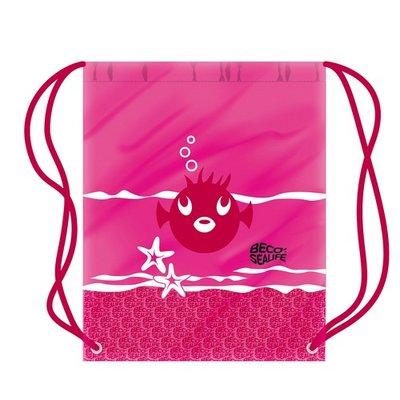 *Outlet* BECO Sealife zwemtasje, 36,5 x 45 cm, roze