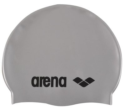 *outlet* arena Classic Silicone jr SILVER/BLACK op=op