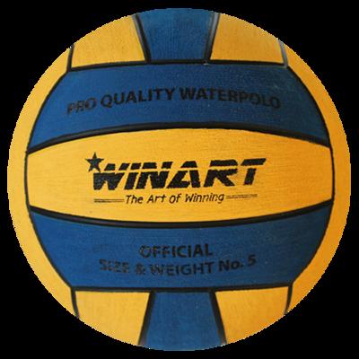 *voordeelbundel* Winart waterpolobal PRO maat 5 geel blauw