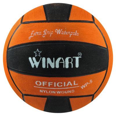 *Voordeelbundel* (10+prijs) Winart waterpolobal dames maat 4 oranje-zwart