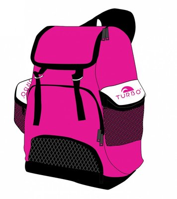 Turbo Waterpolo Luxe Rugzak Draco Rose 30L