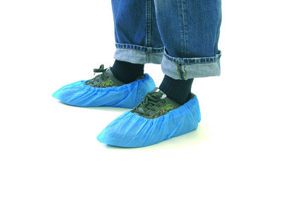 "*Outlet* Epsan overschoenen ""disposable"", PE 15x41 cm, 100 paar"