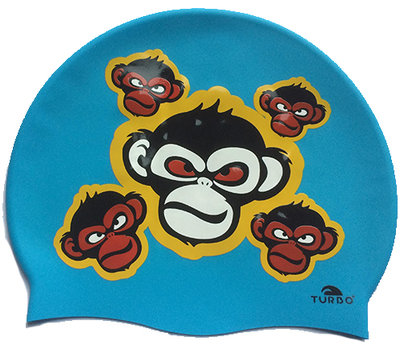 *showmodel* Turbo silicone badmuts Monkey Happy op=op