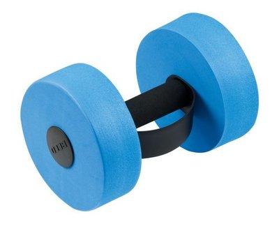 *showmodel* BECO Aqua-halter, M, blauw, 15x21 cm op=op
