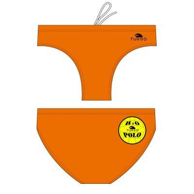 *populair* special made Turbo Waterpolobroek basic orange (levertijd 6 tot 8 weken)