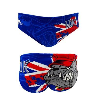 *Special Made* Turbo Waterpolo broek UK BULLDOG (levertijd 6 tot 8 weken)