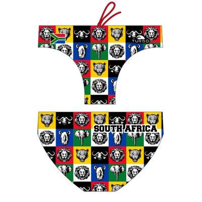 *Special Made* Turbo Waterpolo broek SOUTH AFRICA (levertijd 6 tot 8 weken)