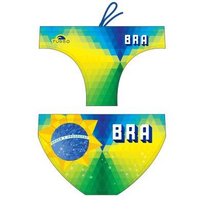 *Special Made* Turbo Waterpolo broek BRAZIL ROMBUS (levertijd 6 tot 8 weken)