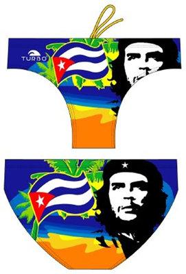 *gratis mini-polobal* showmodel Turbo waterpolo broek Che Cuba FR90 | D6 | XL