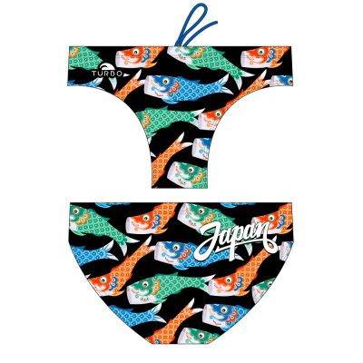 *Special Made* Turbo Waterpolo broek JAPAN FISH (levertijd 6 tot 8 weken)