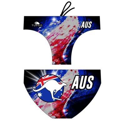 *Special Made* Turbo Waterpolo broek AUSTRALIA DISC (levertijd 6 tot 8 weken)