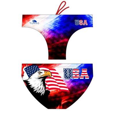 *Special Made* Turbo Waterpolo broek USA ONE (levertijd 6 tot 8 weken)
