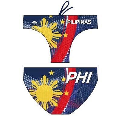 *Special Made* Turbo Waterpolo broek PILIPINAS (levertijd 6 tot 8 weken)