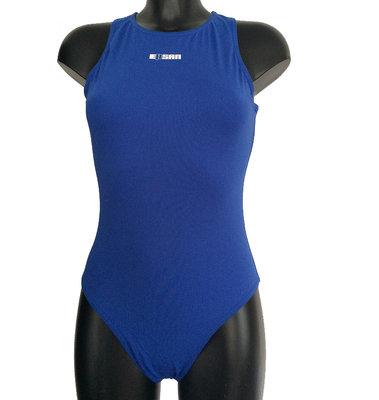 *gratis mini-polobal* Waterpolobadpak Epsan Gold-line blauw maat 2XL-42 op=op