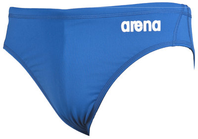 Arena M Solid Waterpolo Brief royal/white 100