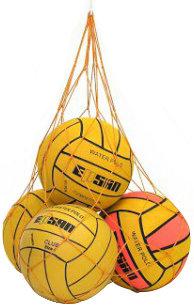 Ballennet, voor 5 waterpoloballen