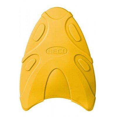 BECO Zwemplankje Hydronamic, 43x30x2,5 cm, geel