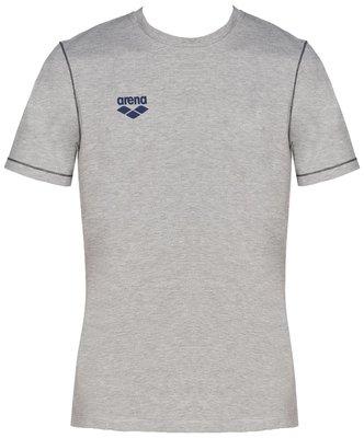 Arena Tl S/S Tee medium-grey XS