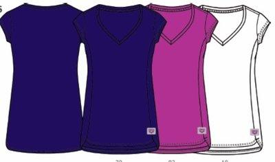Arena W Essence V-Neck Tee rose-violet S
