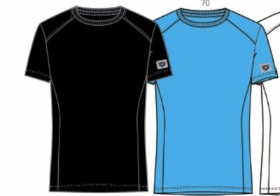 Arena M Essence Tee turquoise L