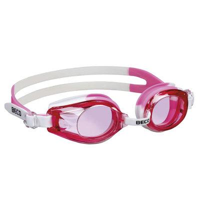 BECO Kinder zwembril Rimini, wit/roze