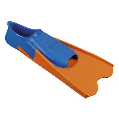 *SHOWMODEL* BECO Rubberen trainingsflipper, kort, blauw/oranje, maat 38-39