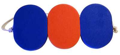 Epsan zwemgordel original winner/3, blauw/orange/blauw