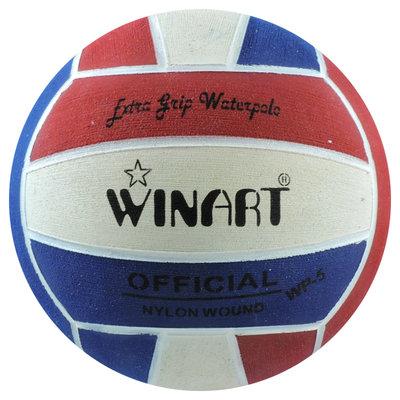 Winart waterpolobal dames maat 4 rood-wit-blauw