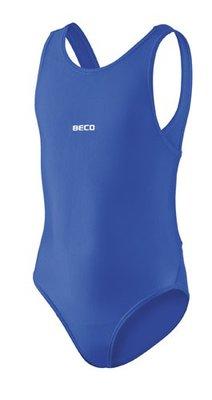 Beco meisjes badpak blauw kindermaat 128