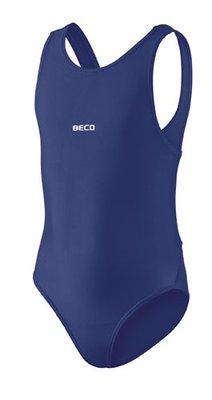 Beco meisjes badpak donker blauw kindermaat 152