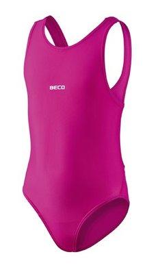 Beco meisjes badpak roze kindermaat 128