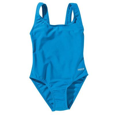 Beco meisjes badpak, turquoise kindermaat 140