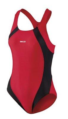 Beco badpak zwart/rood FR42-D40-XL