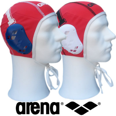 Arena waterpolo cap set keeper nummer 1