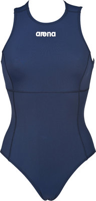 Arena W Solid Waterpolo One Piece navy/white FR38|D36|M