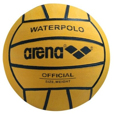 *Voordeelbundel* (10+prijs) Arena Waterpolobal yellow/black heren size 5