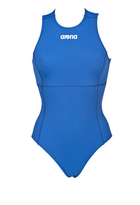*Populair* Arena W Solid Waterpolobadpak One Piece royal/white 32