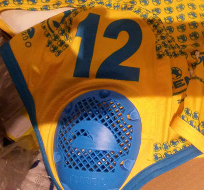 *OUTLET* Turbo Waterpolo Cap Kempvis thuis 11