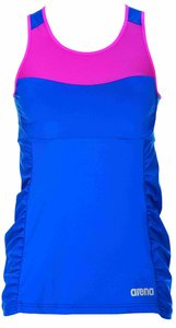 Arena W Performance Sleeveless Tee royal/rose-violet M